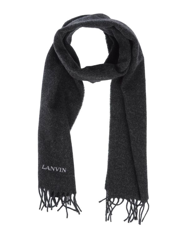 青灰色 LANVIN 围巾