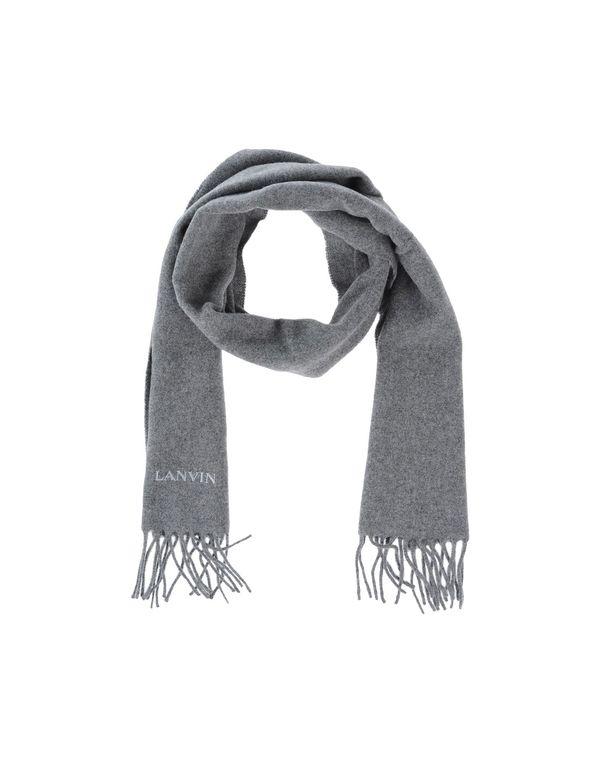 灰色 LANVIN 围巾