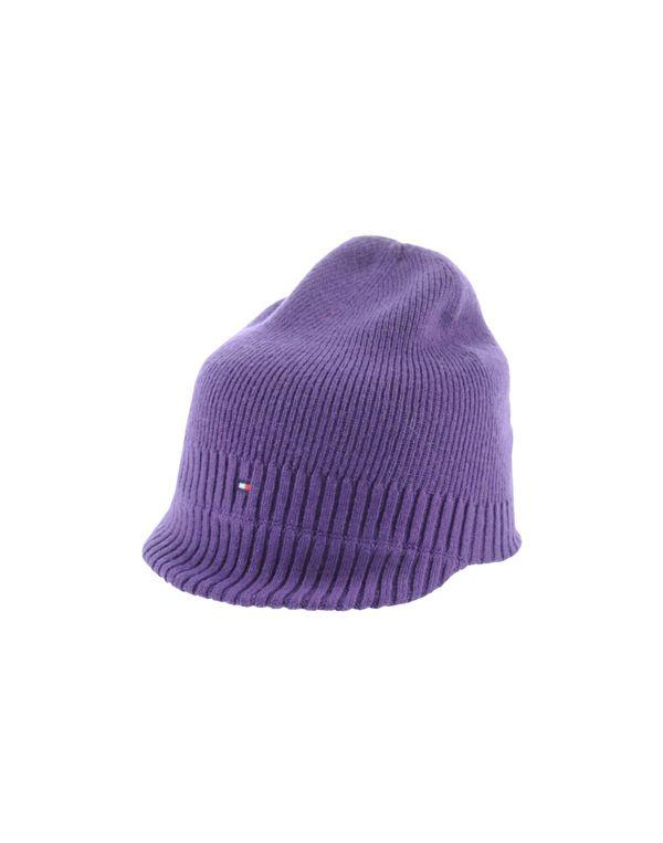 紫色 TOMMY HILFIGER 帽子