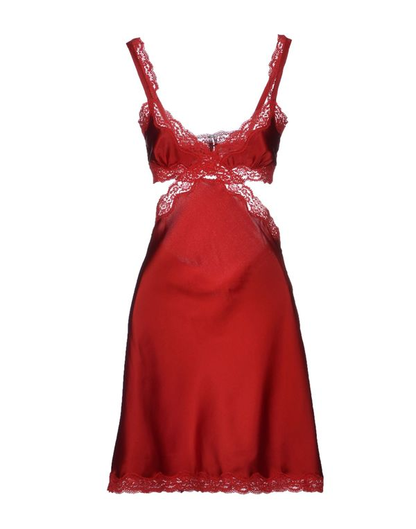 红色 STELLA MCCARTNEY 衬裙