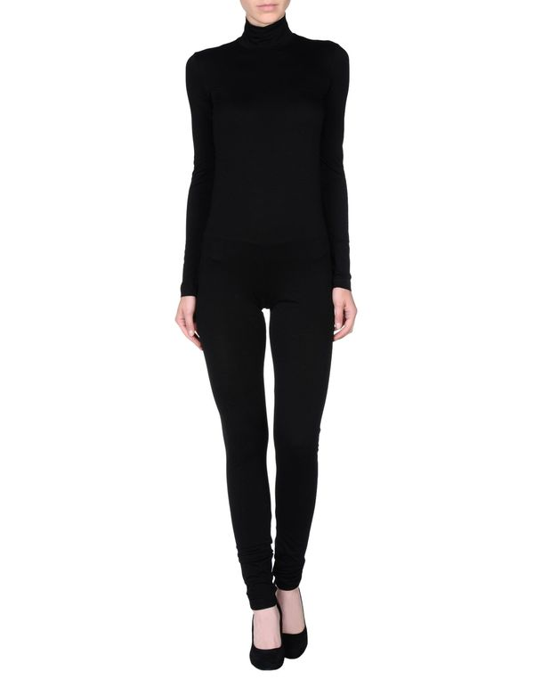 黑色 JIL SANDER 连身长裤