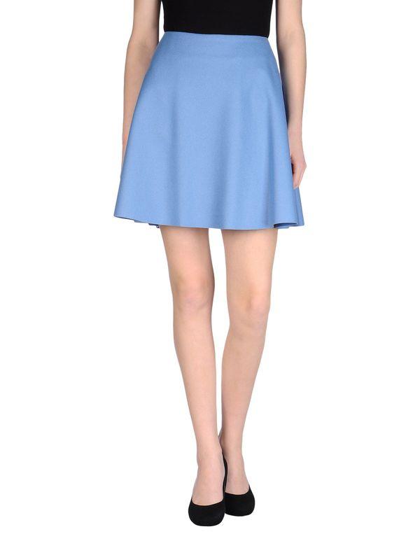 粉蓝色 MSGM 及膝半裙
