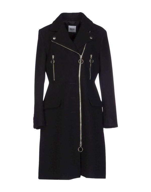 黑色 MOSCHINO CHEAPANDCHIC 大衣