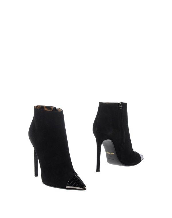 黑色 ROBERTO CAVALLI 短靴