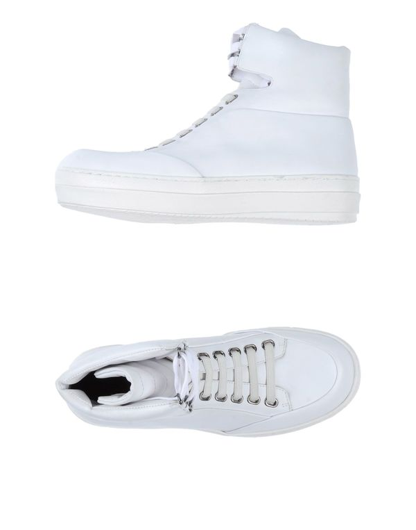 白色 JIL SANDER NAVY High-tops & trainers