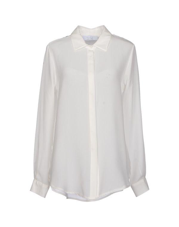 白色 KAOS Shirt