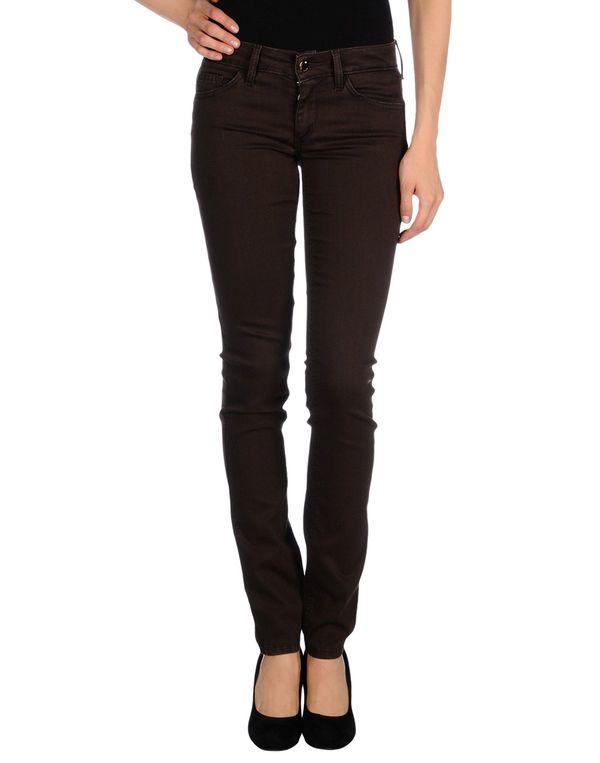 深棕色 LIU •JO 牛仔裤
