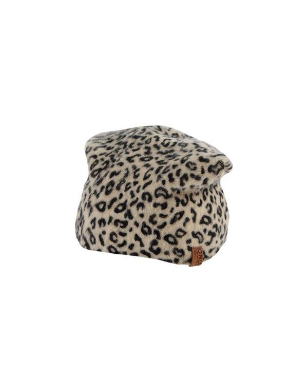 米色 ONLY 帽子