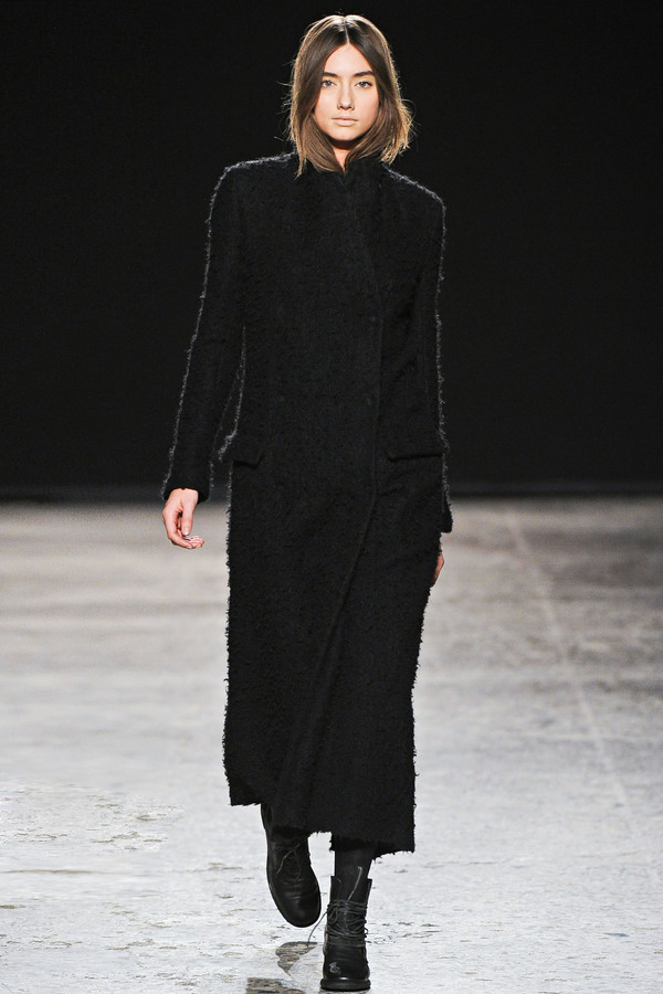 Uma Wang2012秋冬时装秀