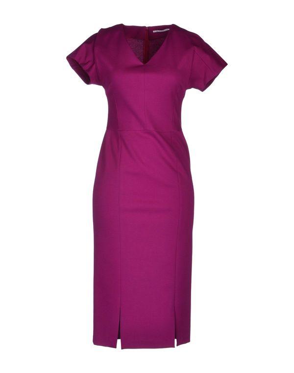 石榴红 LAVINIATURRA 中长款连衣裙