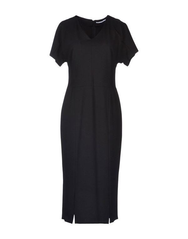 黑色 LAVINIATURRA 中长款连衣裙