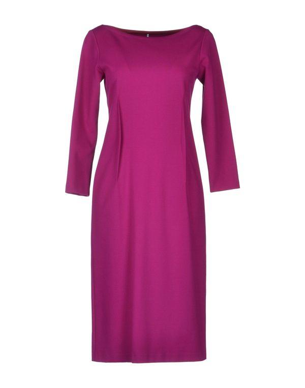 浅紫色 LAVINIATURRA 及膝连衣裙