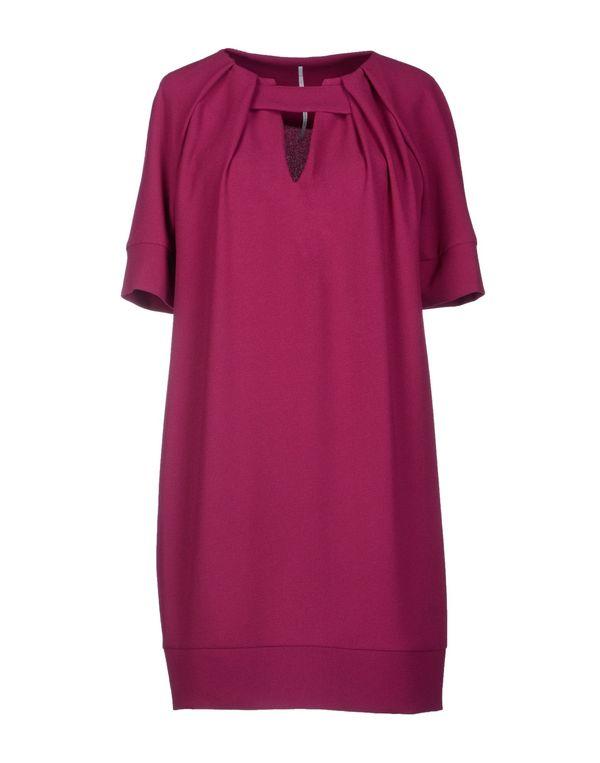 紫红 LAVINIATURRA 短款连衣裙