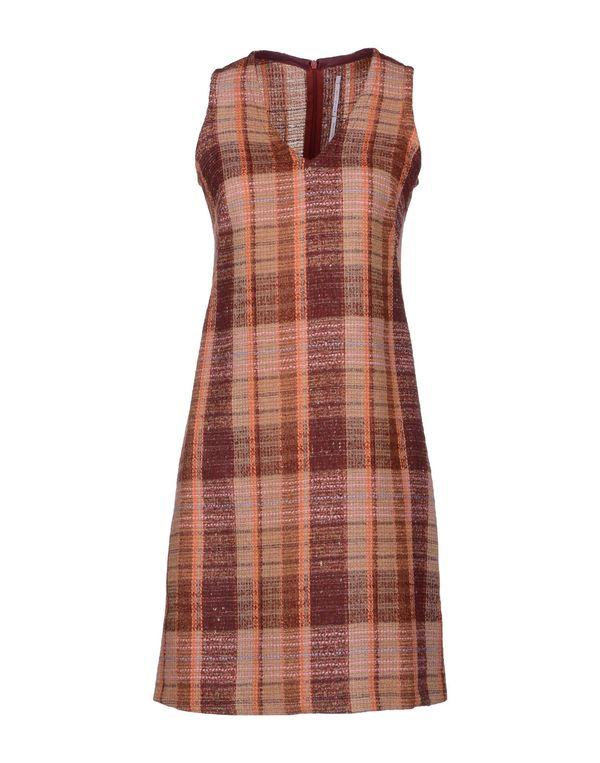 波尔多红 LAVINIATURRA 短款连衣裙