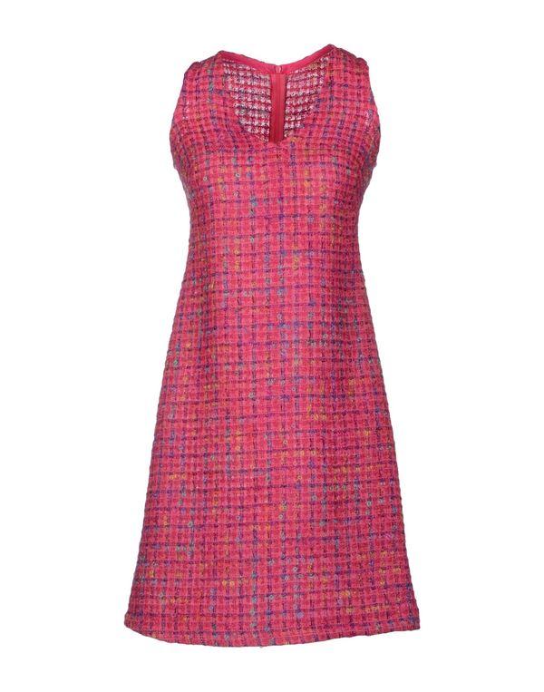 玫红色 LAVINIATURRA 短款连衣裙