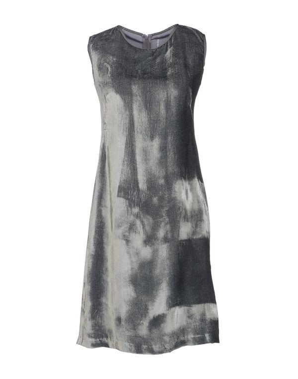 灰色 LAVINIATURRA 短款连衣裙