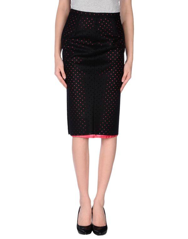 黑色 LAVINIATURRA 半长裙