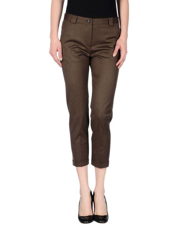 棕色 MAURO GRIFONI 七分裤
