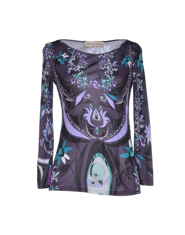 紫色 EMILIO PUCCI T-shirt