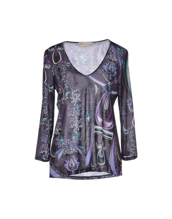 深紫 EMILIO PUCCI T-shirt