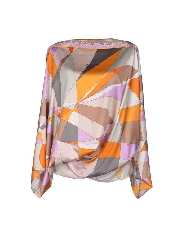 橙色 EMILIO PUCCI 女士衬衫