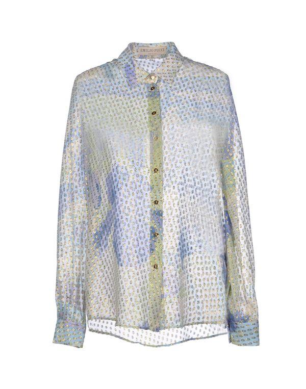 粉蓝色 EMILIO PUCCI Shirt