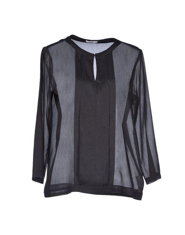 黑色 M.GRIFONI DENIM 女士衬衫
