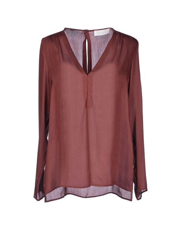 巧克力色 MAURO GRIFONI 女士衬衫