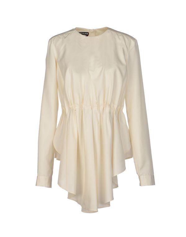 白色 ROCHAS 女士衬衫