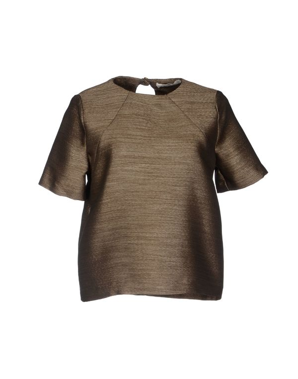 青铜色 MAURO GRIFONI 女士衬衫