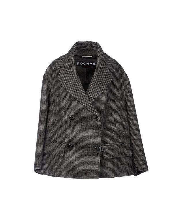 灰色 ROCHAS 大衣