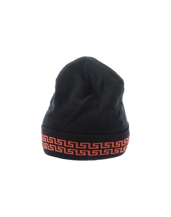 铁锈红 VERSACE 帽子