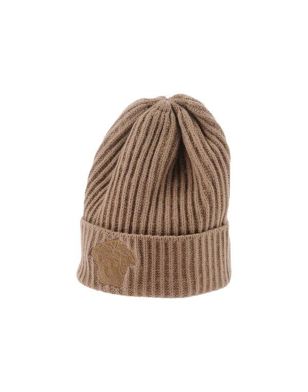 驼色 VERSACE 帽子
