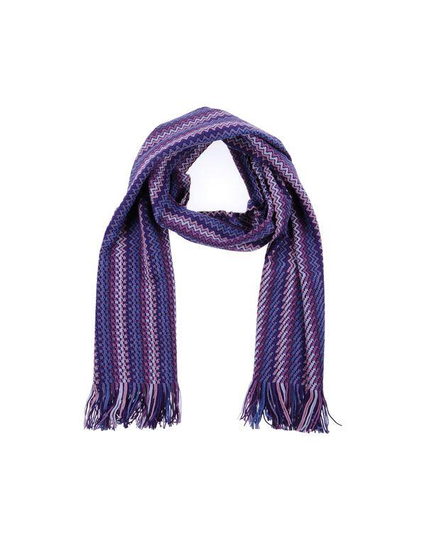 深紫色 MISSONI 围巾