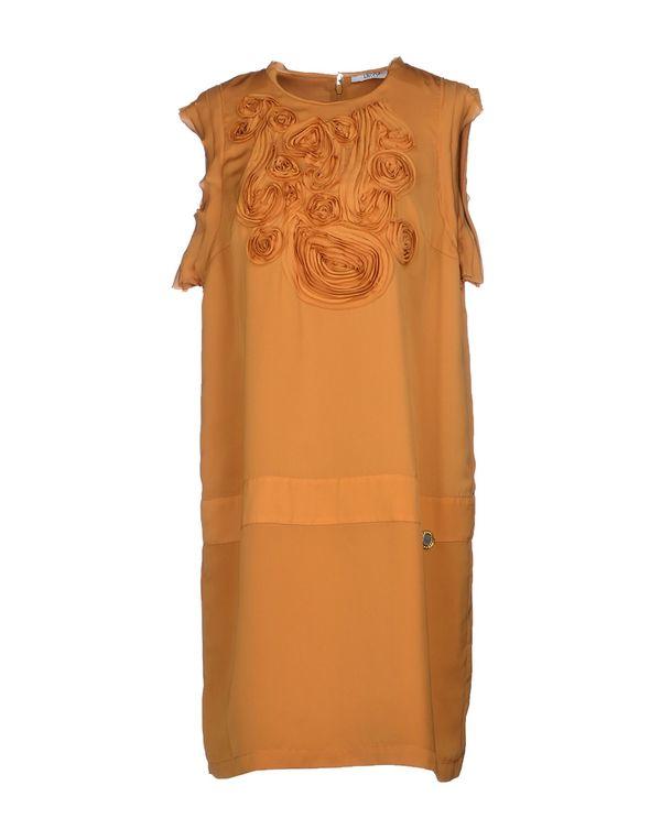 赭石色 LIU •JO JEANS 短款连衣裙