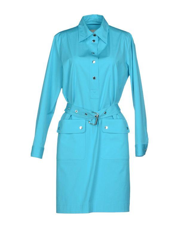 蓝绿色 MICHAEL KORS 短款连衣裙