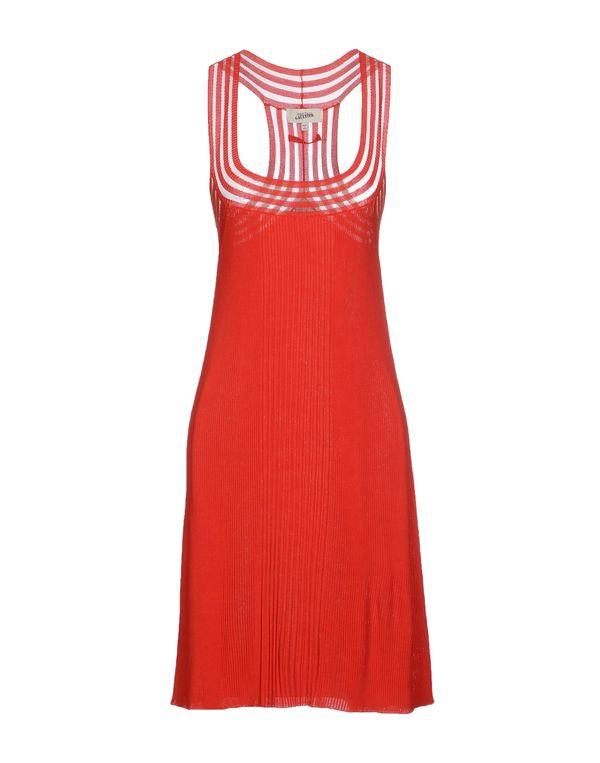 红色 JEAN PAUL GAULTIER 短款连衣裙