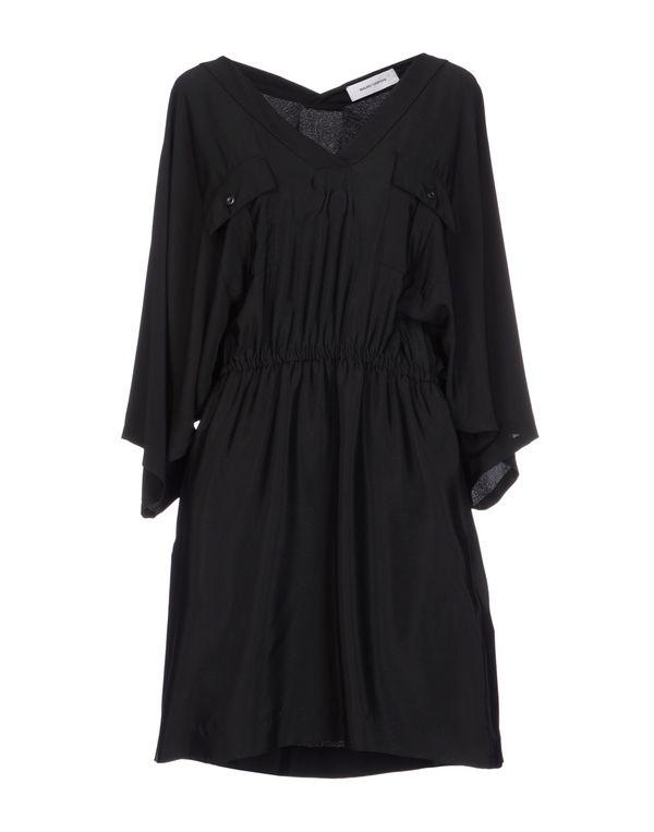 黑色 MAURO GRIFONI 短款连衣裙