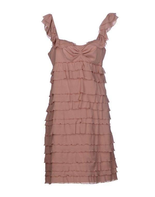 水粉红 MOSCHINO CHEAPANDCHIC 短款连衣裙