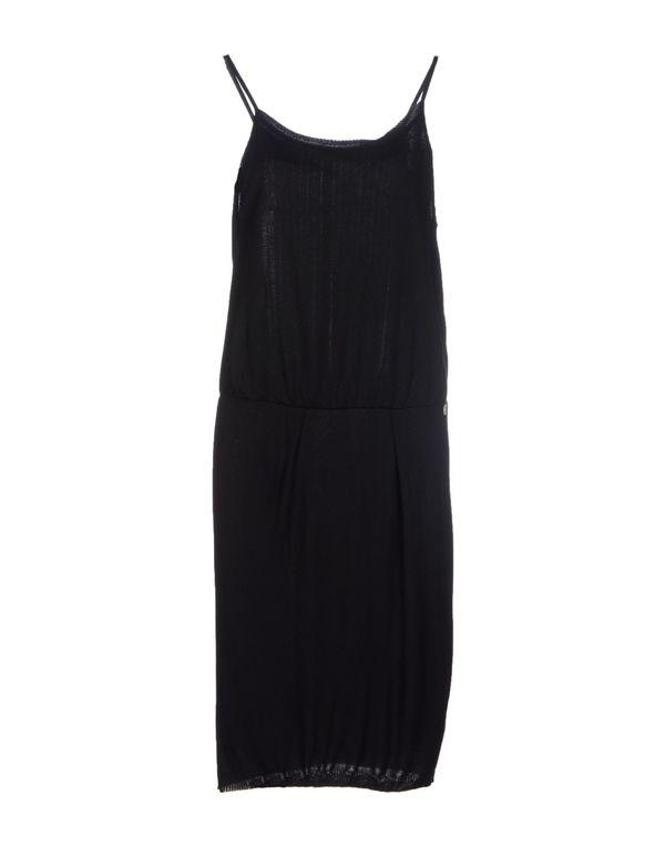 黑色 LIU •JO 及膝连衣裙