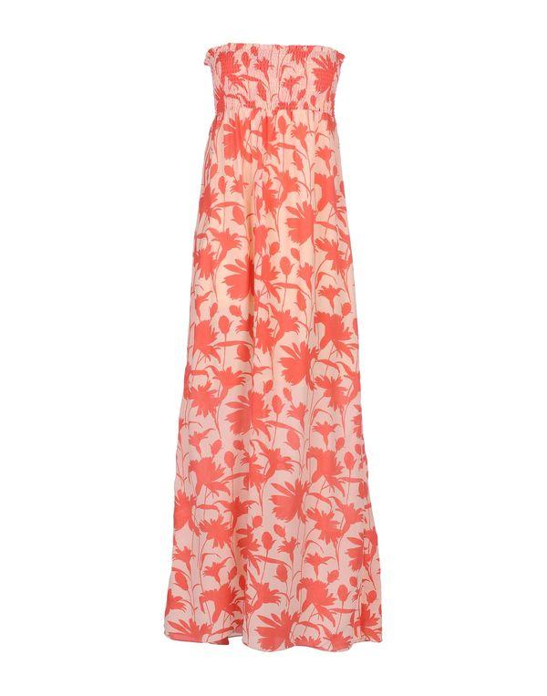 珊瑚红 PATRIZIA PEPE 长款连衣裙