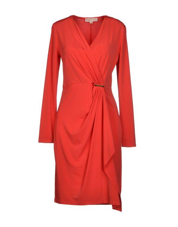 珊瑚红 MICHAEL MICHAEL KORS 短款连衣裙