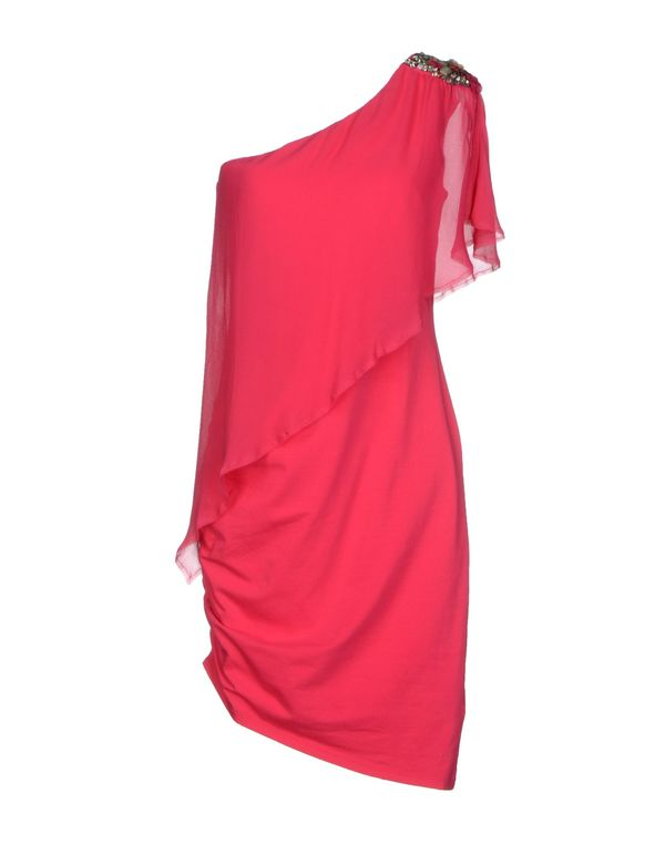 玫红色 PATRIZIA PEPE 及膝连衣裙