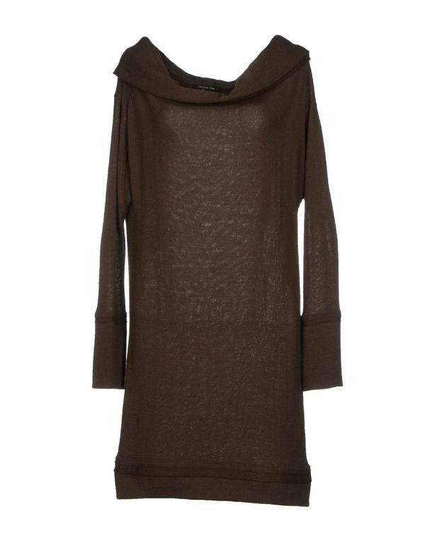 深棕色 PATRIZIA PEPE 短款连衣裙