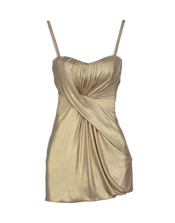 铂金色 PINKO BLACK 短款连衣裙
