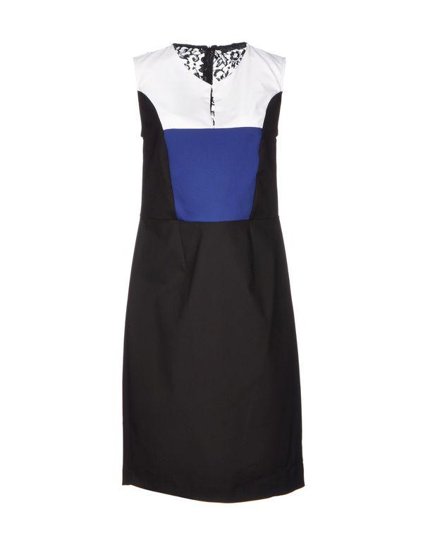 黑色 NOSHUA 短款连衣裙