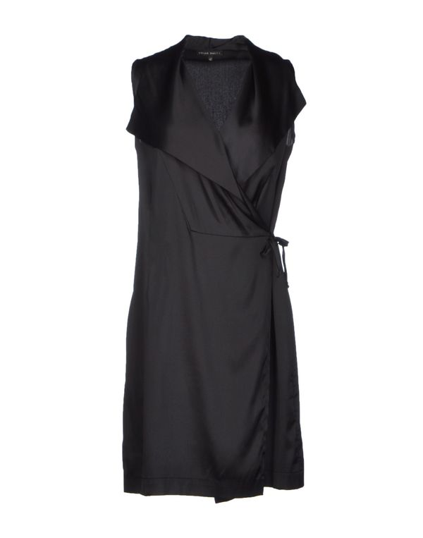 黑色 BRIAN DALES 短款连衣裙