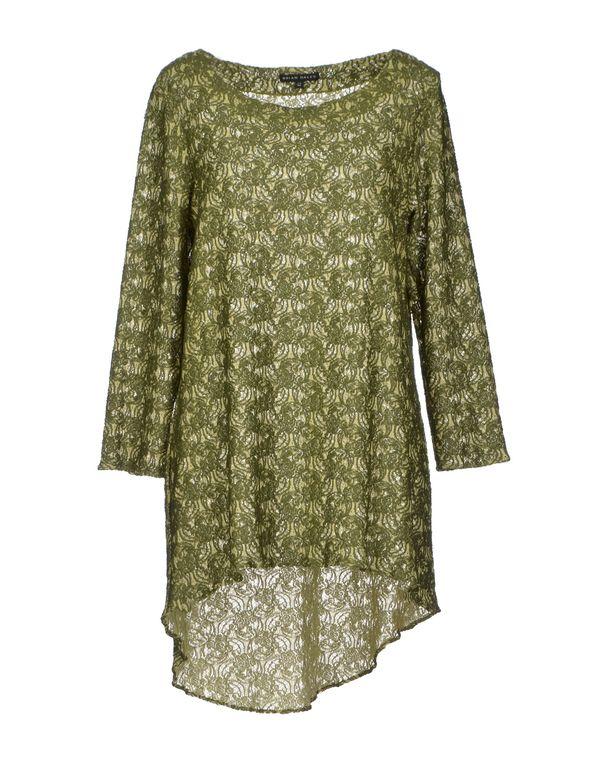绿色 BRIAN DALES 女士衬衫