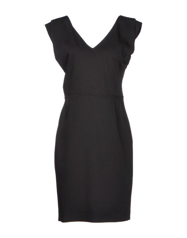 黑色 GOLD CASE SOGNO 短款连衣裙