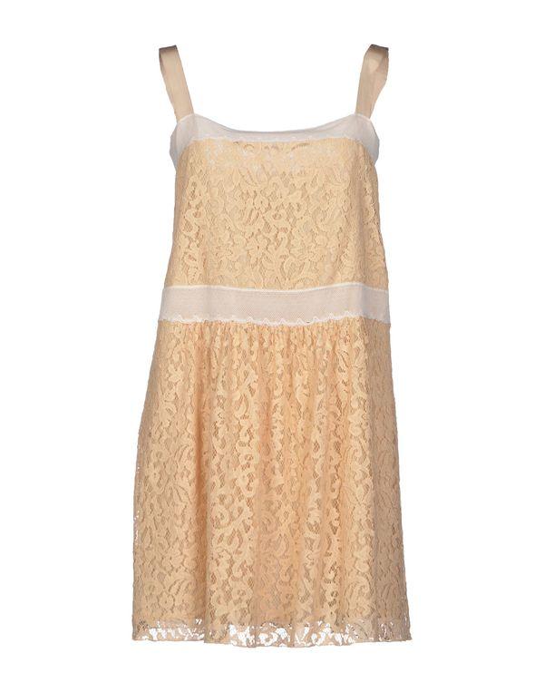 沙色 ...À_LA_FOIS... 短款连衣裙
